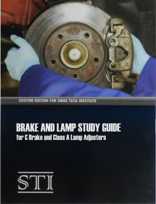 Brake And Lamp Study Guide