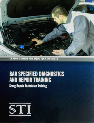 Bar Specified Diagnostic and Repair Training